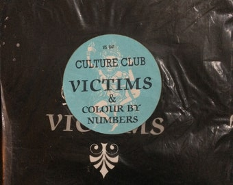Culture Club Victims/Colour by Numbers Vinyl 45 Single Import 1984