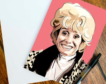 A Peggy Mitchell Greetings Card