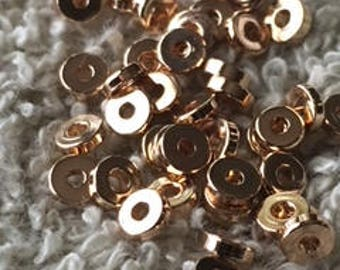 Spacer Beads 3mm 18kt Gold