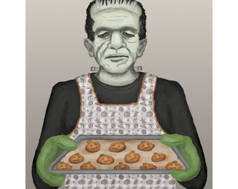 Frank's Holiday Baking Print