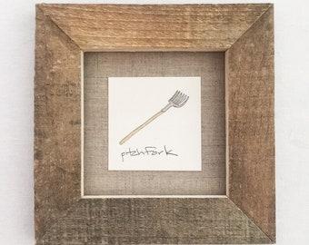diminutive doodle: pitchfork