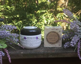 Whipped Creamy Scrub and Soap Combo