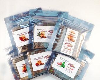 100 Count FlavaSticks Wood Flavored Toothpicks Bulk Bag