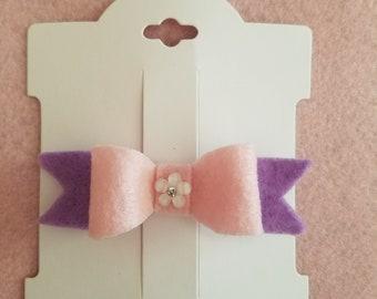 Handmade Felt Bows