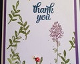 A Simple Note Greeting Card Set-4