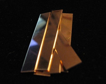 14k Gold Filled CUFF BRACELET Jewelry Making Supplies RECTANGLE for Hand Stamping Cuff 18 Gauge 1/4 x 6 inch Qty 1