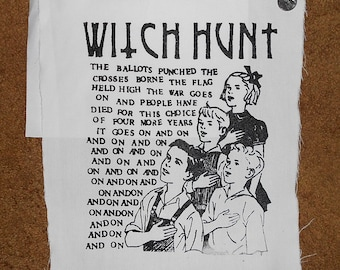 """Witch Hunt Backpatch - """"Children"""" (Limited Release - 10 only)"""