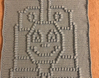 Happy Choo Choo Baby Blanket