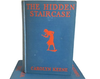 Vintage Nancy Drew The Hidden Staircase, No. 2, 1932 by Carolyn Keene Nancy Drew Mysterie, Detective Stories,