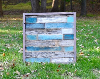 Reclaimed Barn Wood Plank Wall Art