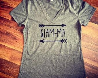 Glamma tshirt|tshirt for grandma|grandma gift|Mothers Day Gift