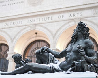 Statue at the DIA, Detroit, Michigan- Photography Prints