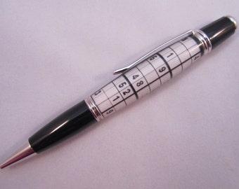Handmade Sudoku Pen