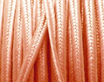 Soutache rayon satin peach meter 3mm