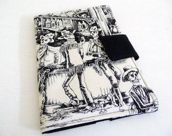 Day of the Dead Skeletons Cover for Kindle Keyboard and Kindle Fire