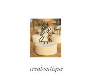 Tree shaped/Photo holder/place card/table decoration/ gift idea