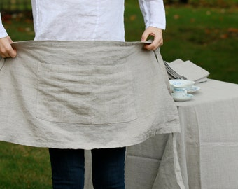 Linen Cafe-Aprons (More Colours)