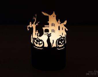 Bastelbogen Windlicht »Halloween«