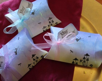 May All Your Wishes Come True Fairy Pillow Boxes - Set of 8