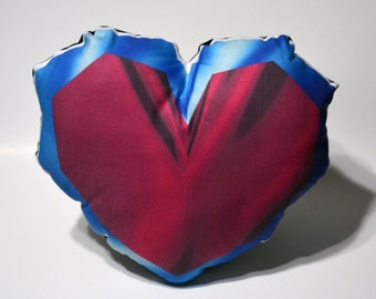 Heart Container Pillow - Large -  Made to Order