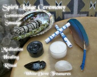 Spirit Lodge Meditation Smudge Kit