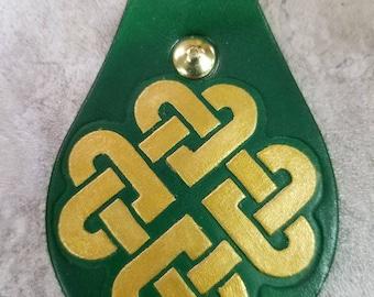 Celtic Knot Keychain Zipper Pull Key Chain