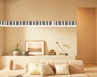 Piano Keys Border - Vinyl Wall Decal