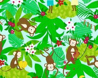 FERNANDO Gift Wrap - Pattern: Little Monkeys