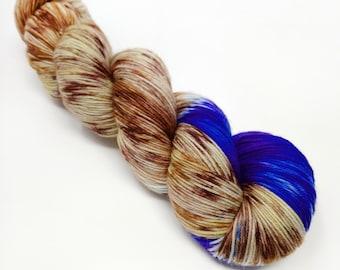 Mrs Mallard  -  100g - 4 Ply / Sock - Superwash Merino / Nylon - Hand Dyed Yarn