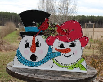Snowman -  Christmas  - Outdoor decorations