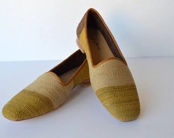 Kilim women shoes - 42 Euro size (28 cm-11 inch)