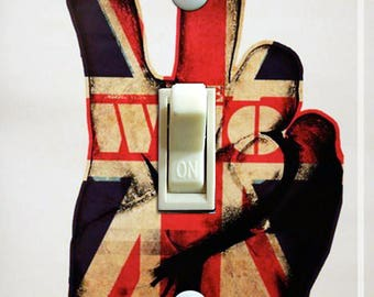 The Who Vintage Poster Single Switch Plate  ***FREE SHIPPING***