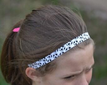 Soccer Headband 3 Pack , Team Color Soccer Soccer Headband, Soccer Headband Team Gift, Soccer Gift, Soccer Headband Team Gifts - Soccer Mom