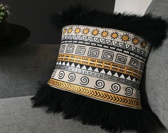 Ele Africa #4 cushion cover