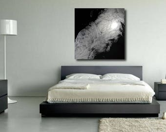 Abstract, White and Black Abstract, White Abstract, White and black marble Artwork, White and black Painting, Black abstract,