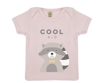Baby organic cotton Cool Kid shirt