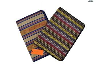 Bhutan Fabric File Folder