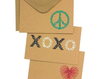 """Dimensions Greeting Card Fronts, 7""""X5"""",  6/Pkg"""