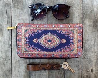 Clutch wallet women, wallet purse, wallet clutch women, tribal purse, hippie purse women, gypsy purse women, handmade wallet women, clutch