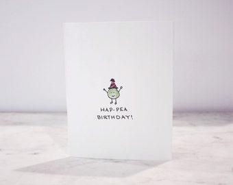 Handmade Happy Birthday Card with Envelope