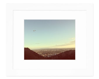 Hollycopter Invasion Framed Wall Art | Los Angeles Cityscape | Los Angeles Landscape | Los Angeles Wall Art