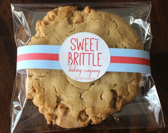 Giant Double Peanut Butter Cookie