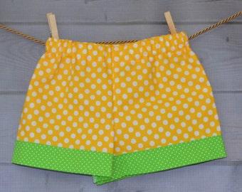 Matching Cuff Shorts for Girls