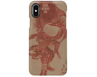 """Smartphone case """"Katsushika Hokusai  Red Shōki, the Demon Queller"""""""