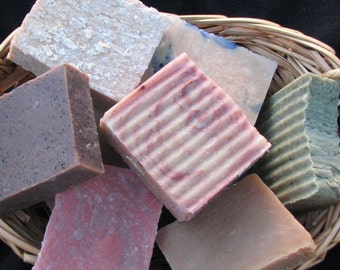Soap of the Month Club for 6 months Double the fun Family size 2 bars