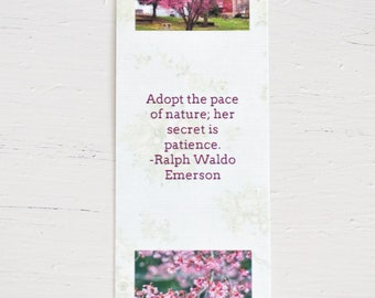 Mother's Day Gift Linen Paper Photo Bookmark