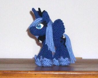 Princess Luna Crochet Plush