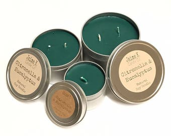 Gift Set of 3 Pinion Pine Candle Tins 100%