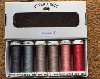 Pack of discovery silk vintage oval