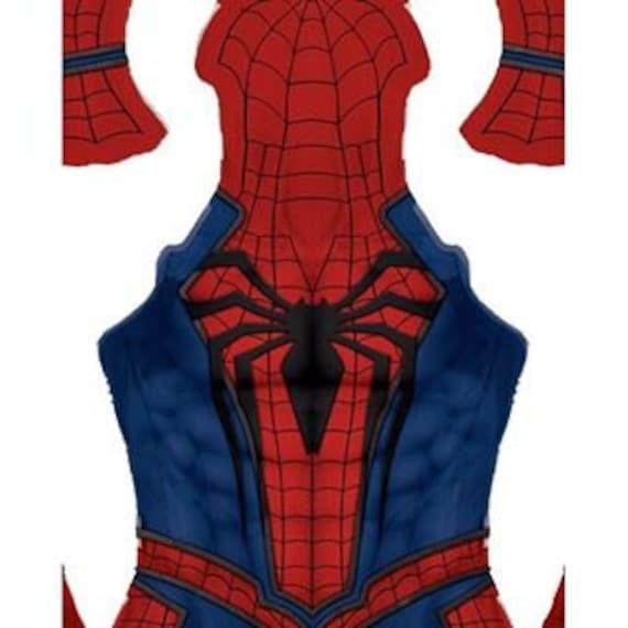 high quality insomniac spider man ps4 video game cosplay rh etsy com spiderman costume youtube Spider-Man 3 Logo